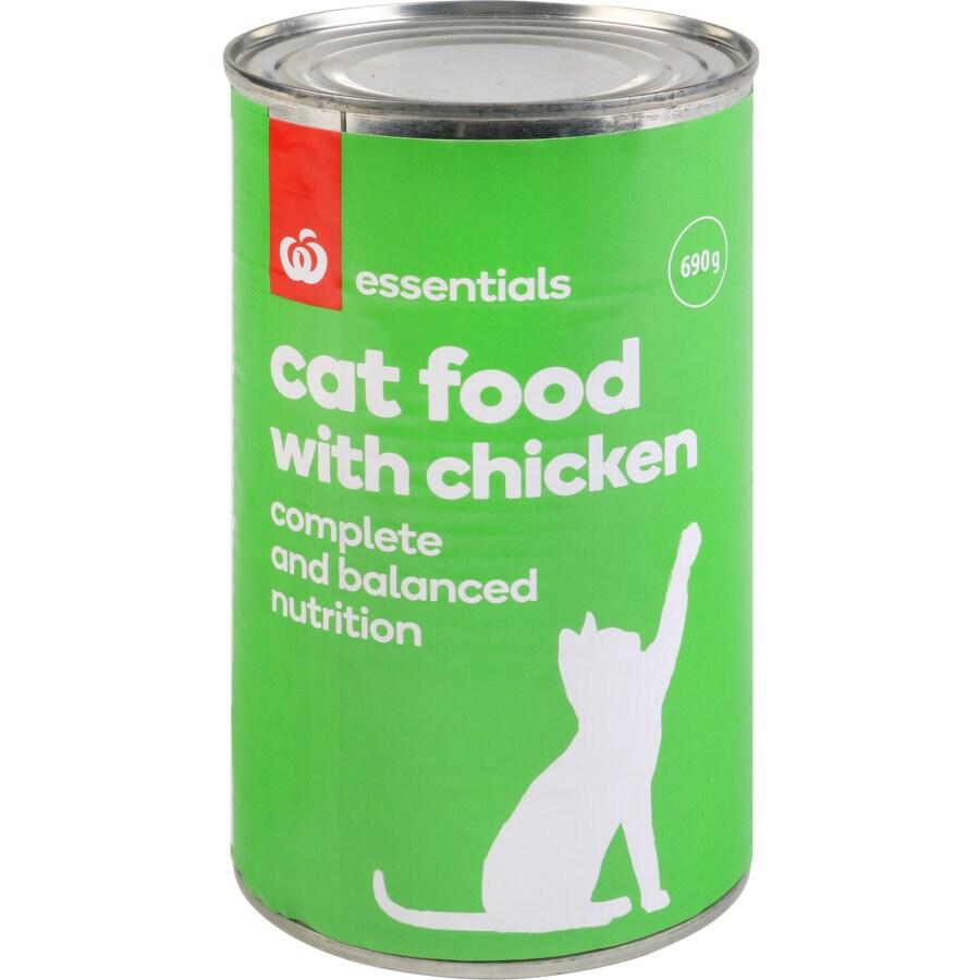Essentials Cat Food Chicken 690g - buy online at countdown.co.nz