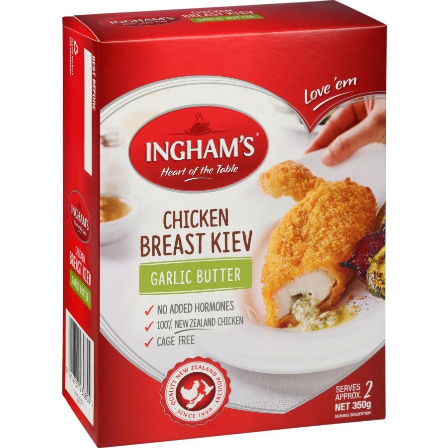 Ingham Red Box Chicken Breast Kiev 2pk 350g - buy online at countdown.co.nz