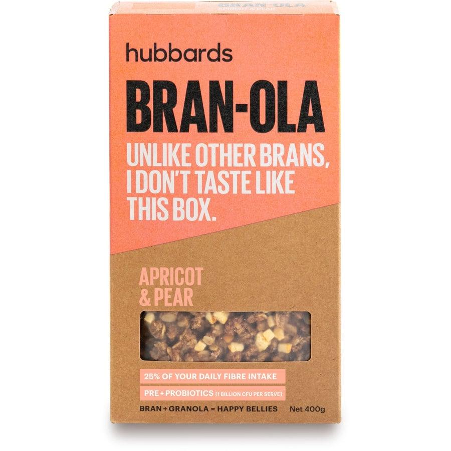 Hubbards Bran-ola Bran Apricot & Pear 400g - buy online at countdown.co.nz