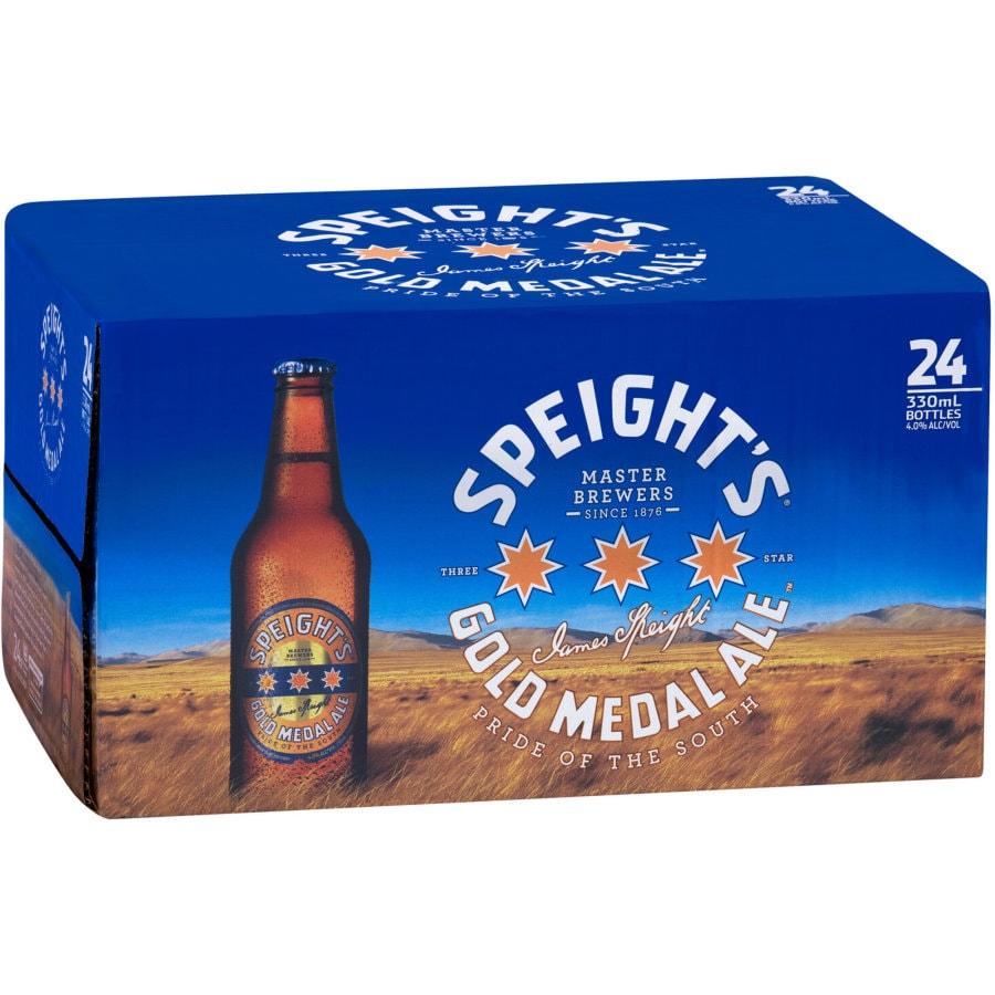 Speights Gold Medal Beer 330ml bottles 24pk - buy online at countdown.co.nz