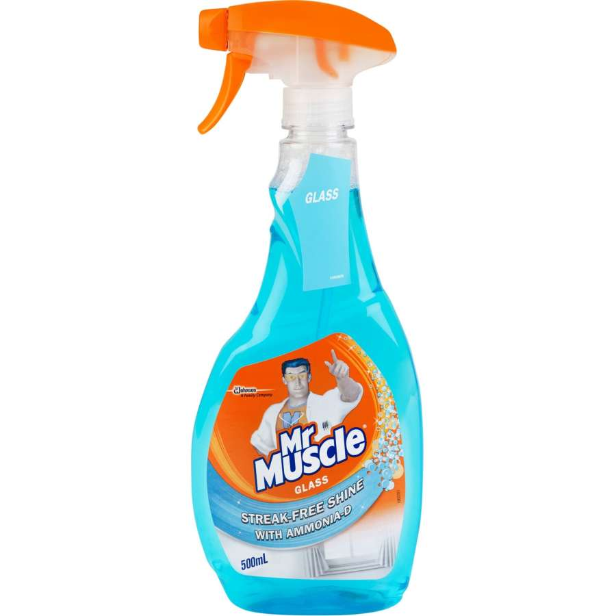 Mr Muscle Glass Cleaner Blue Trigger 500ml - buy online at countdown.co.nz
