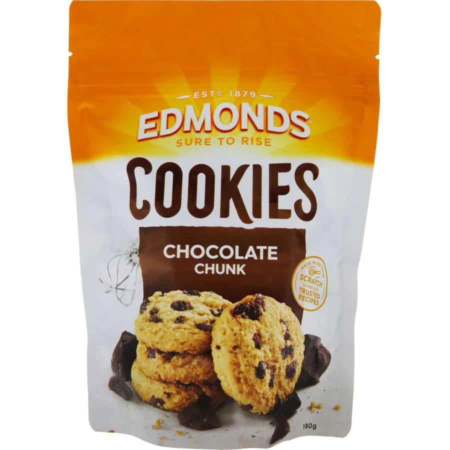 Edmonds Cookies Chocolate Chunk 180g - buy online at countdown.co.nz