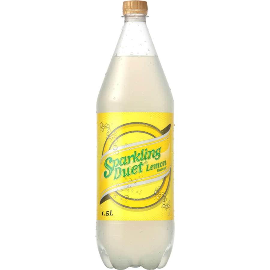 Sparkling Duet Soft Drink Lemon 1.5l - buy online at countdown.co.nz