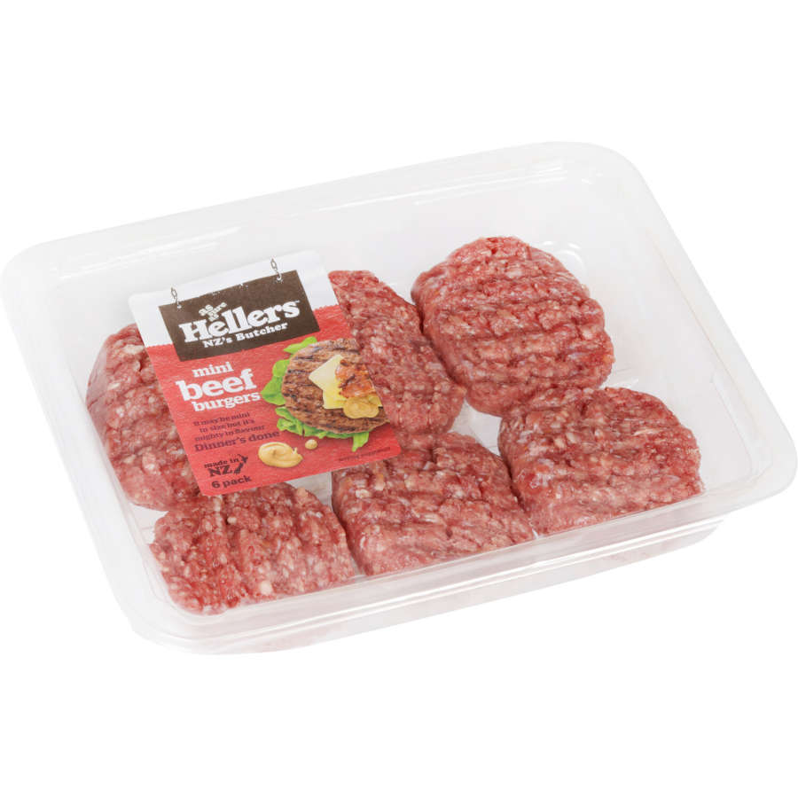 Hellers Burger Patties Mini Beef 300g - buy online at countdown.co.nz