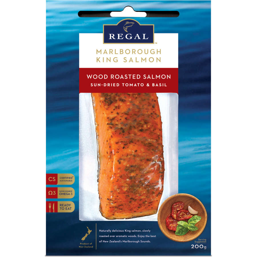 Regal Smoked Salmon Portion Tomato & Basil 200g - buy online at countdown.co.nz