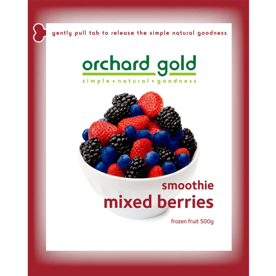 Orchard Gold Frozen Mixed Berries Smoothie 500g - buy online at countdown.co.nz