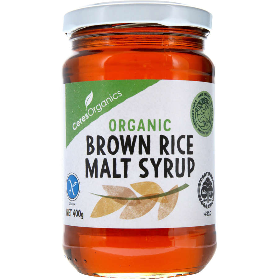 Ceres Organics Malt Brown Rice Syrup 400g - buy online at countdown.co.nz