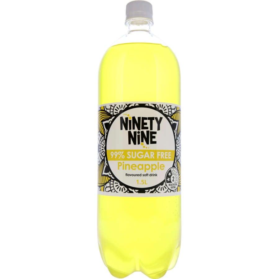 Ninety Nine Soft Drink Pineapple 99% Sugar Free 1.5l - buy online at countdown.co.nz