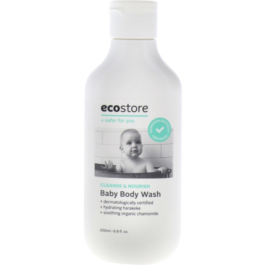 Ecostore Baby Bath Body Wash bottle 200ml - buy online at countdown.co.nz