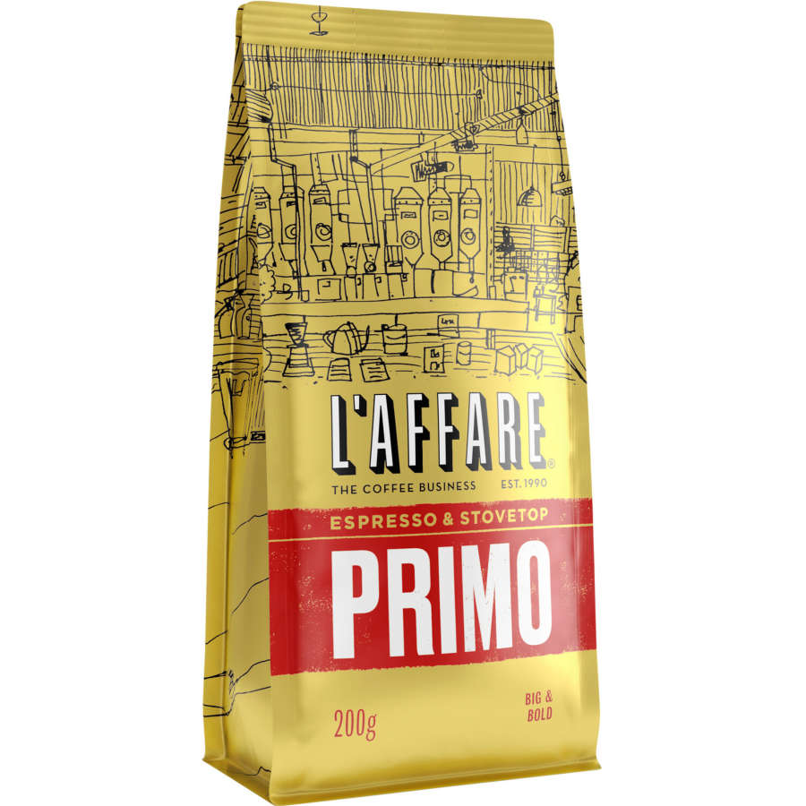L'affare Espresso Grind Primo 200g - buy online at countdown.co.nz