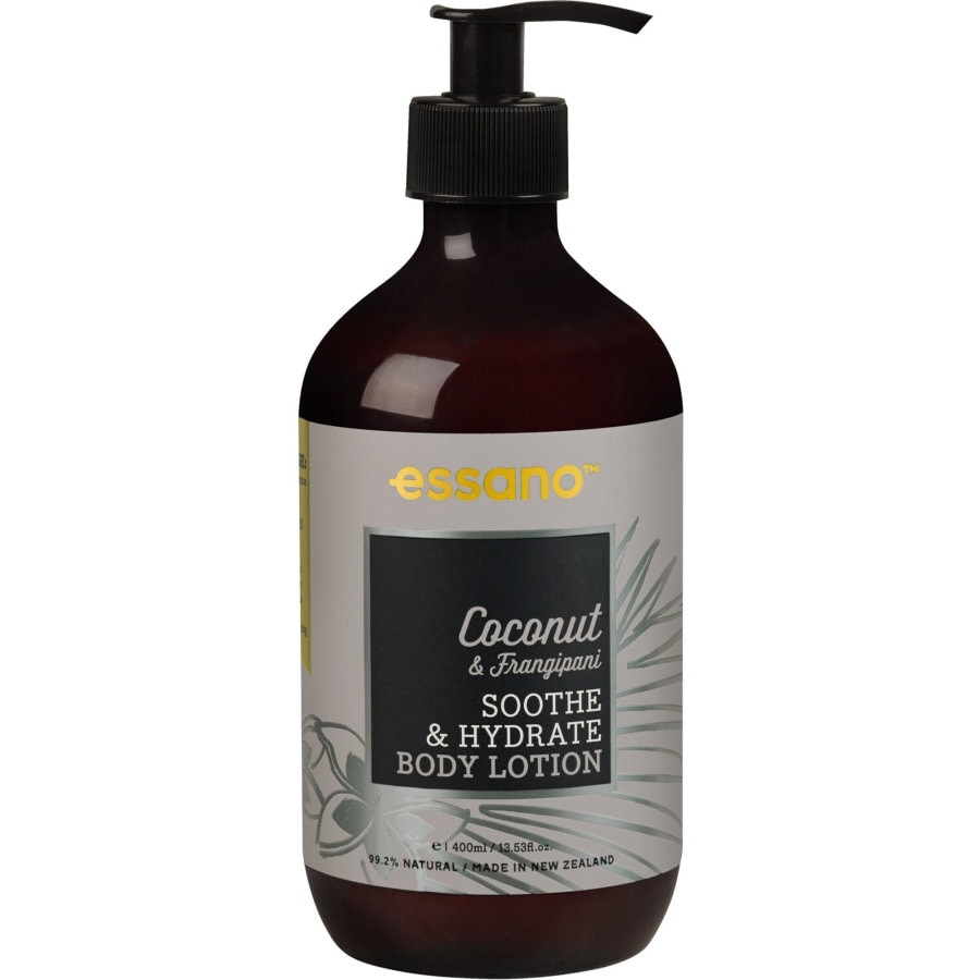 Essano Bliss Coconut Oil Body Lotion Moisturising pump 400ml - buy online at countdown.co.nz