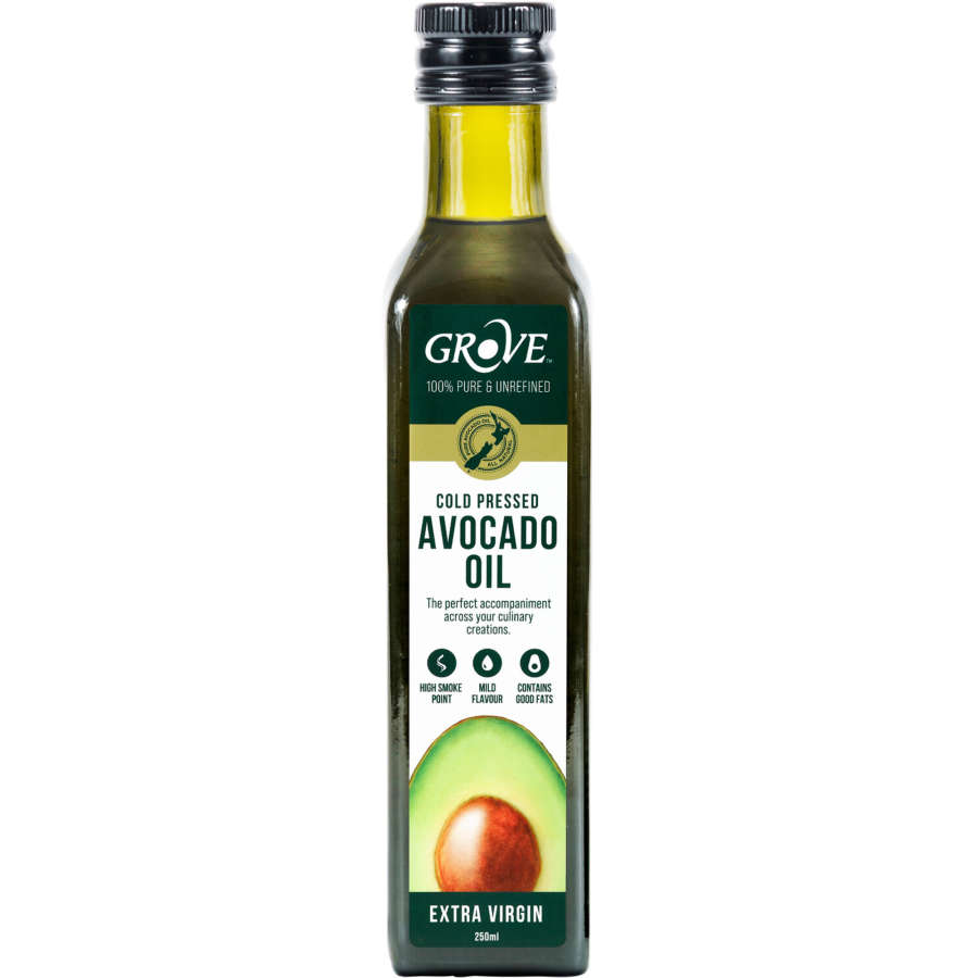 The Grove Gourmet Avocado Oil Extra Virgn Cold Pressed 250ml - buy online at countdown.co.nz