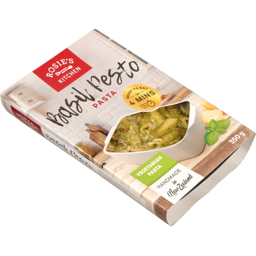 Rosies Kitchen Chilled Meal Basil Pesto Penette 350g - buy online at countdown.co.nz