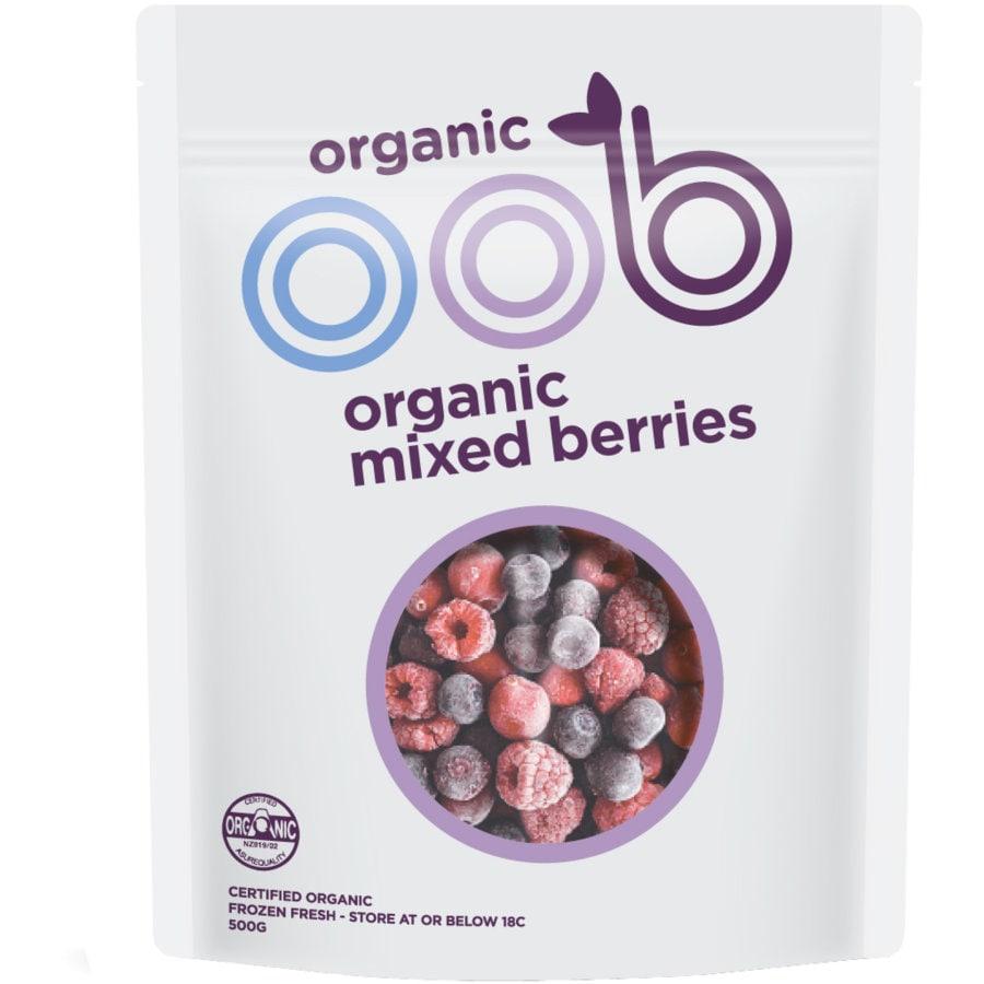 Oob Organic Frozen Mixed Berries 500g - buy online at countdown.co.nz