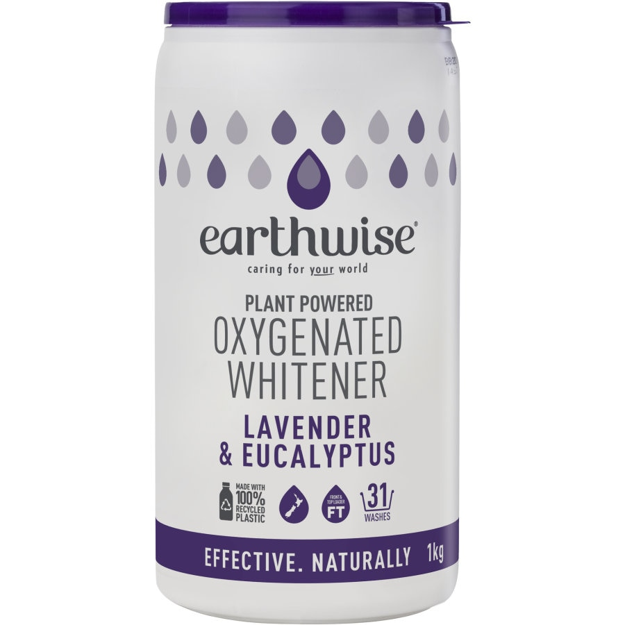 Earthwise Laundry Soaker Lavender & Eucalyptus Whitener 1kg - buy online at countdown.co.nz