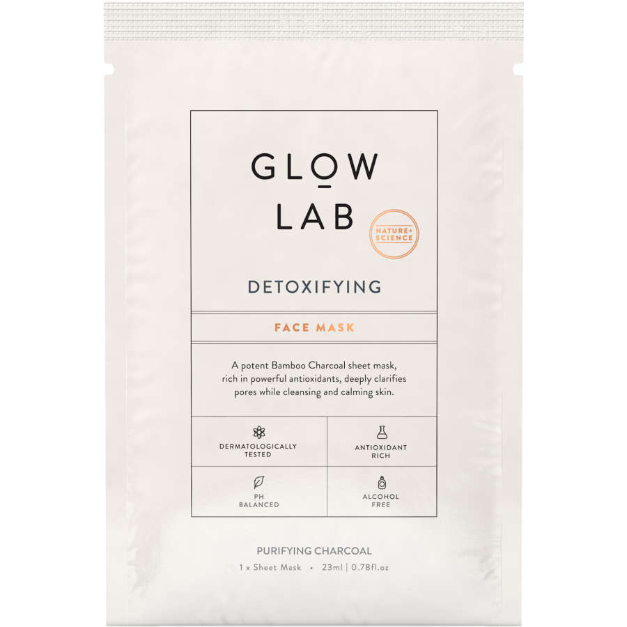 Glow Lab Facial Mask Detoxifying 23ml - buy online at countdown.co.nz