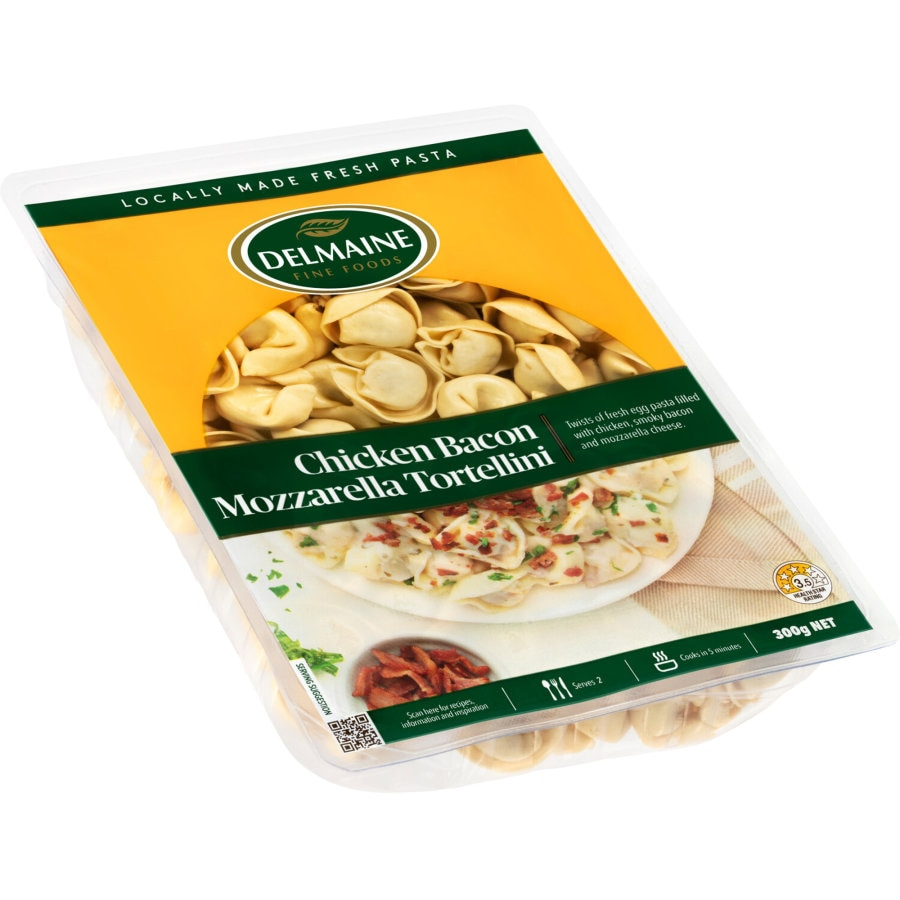 Delmaine Chilled Filled Pasta Mozzarella Tortellini 300g - buy online at countdown.co.nz