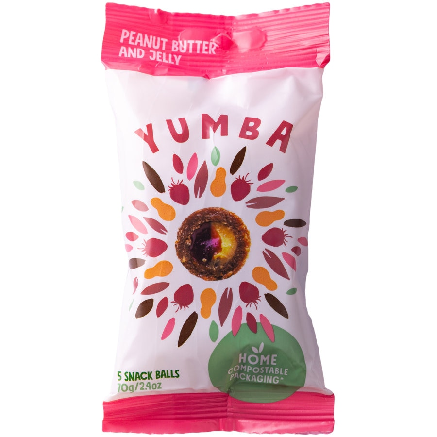Yumba Snack Balls Peanut Butter And Jelly 70g - buy online at countdown.co.nz