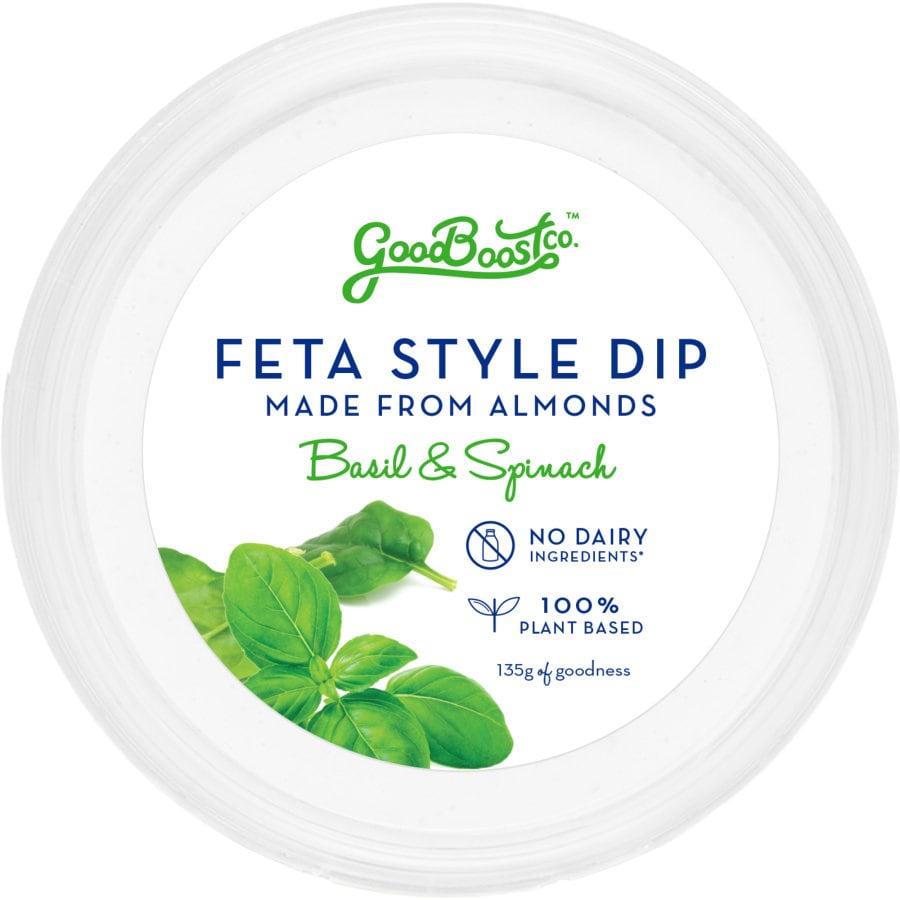 Almond Feta Dip Basil & Spinach 135g - buy online at countdown.co.nz